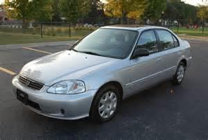 1999 Honda Civic Sedan 1999 Honda Civic Lx 4d Sedan Moonroof