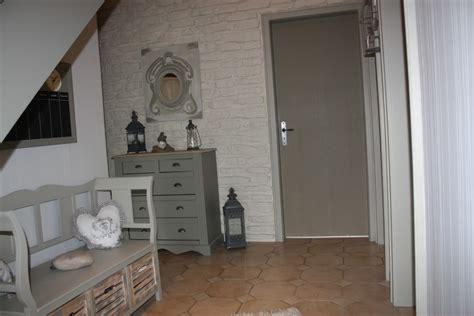 deco couloir gris et blanc couloir photo 1 7 3507563