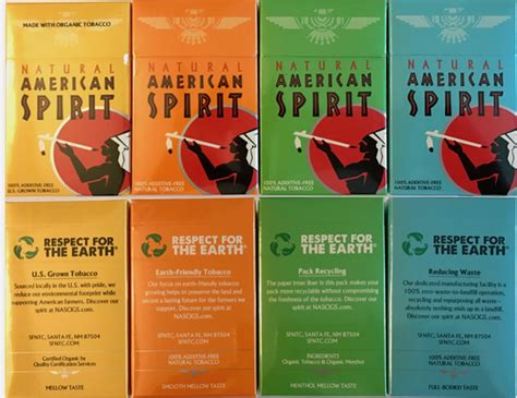 american spirit types colors the flip side of american spirit corporate social