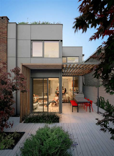 through house toronto on sustainable architecture and