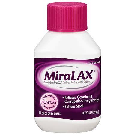 miralax laxative powder   walgreens