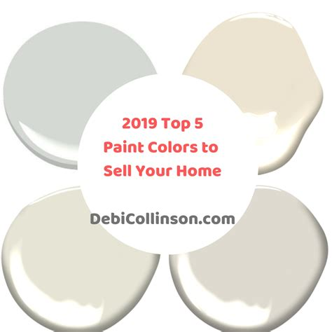 top paint colors 2019 top 5 paint colors to sell your home add value to