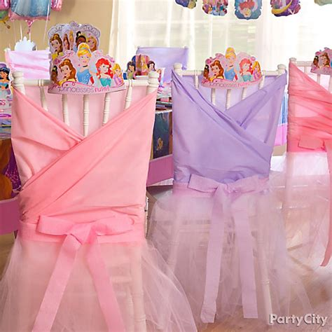 sweet 16 princess chair in decorations in