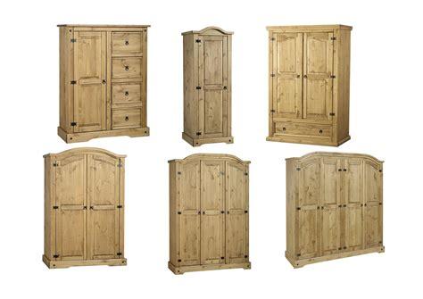 Corona Mexican Pine 4 Door Wardrobe by Seconique Corona Wardrobes Solid Mexican Pine Choose 1 2 3 Or 4 Doors Ebay