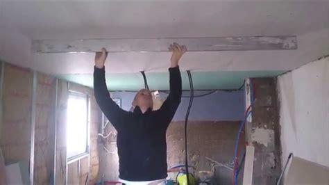 Comment Faire Un Plafond En Platre by Comment Faire Un Plafond En Plaque De Pl 226 Tre De Niveau