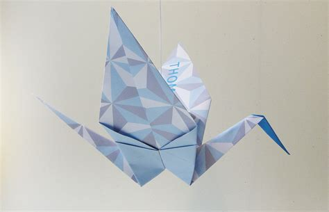 Paper Origami Bird - the story of the luck origami crane origami zoo