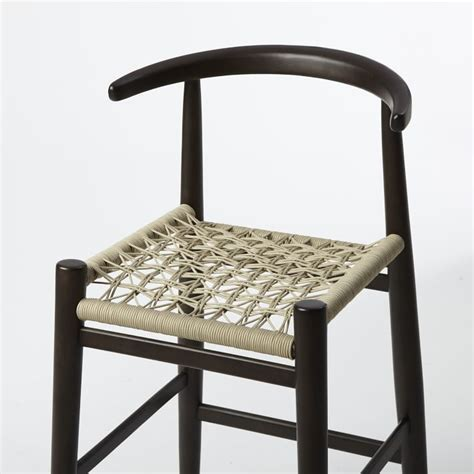 Vogel Bar Stool by Vogel Bar Counter Stool Flaxchocolate West Elm