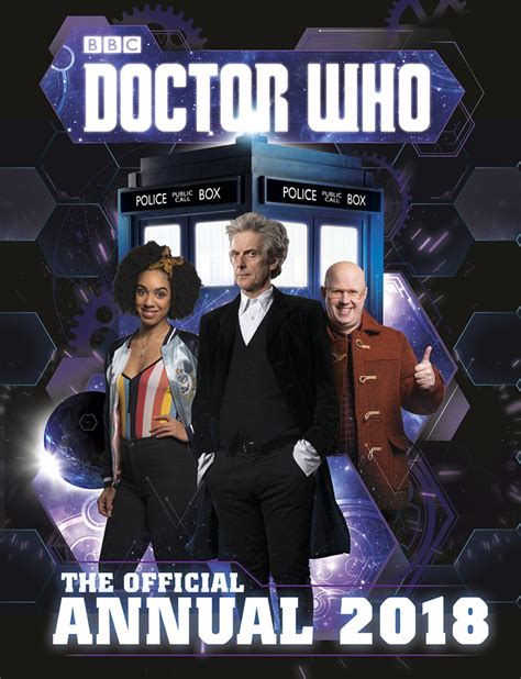 doctor who official annual 2018 hardcover merchandise