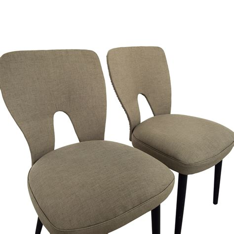 wayfair armchair 62 off wayfair wayfair upholstered beige dining chairs