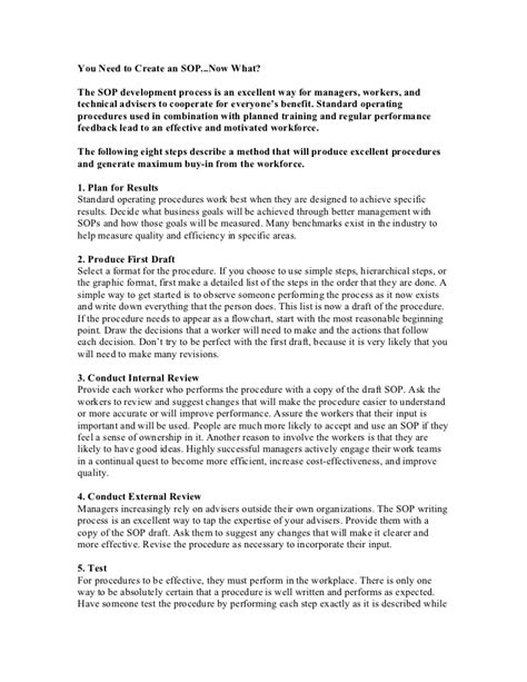 Resume Samples Hotel Management by Standard Operating Procedure For Hotels