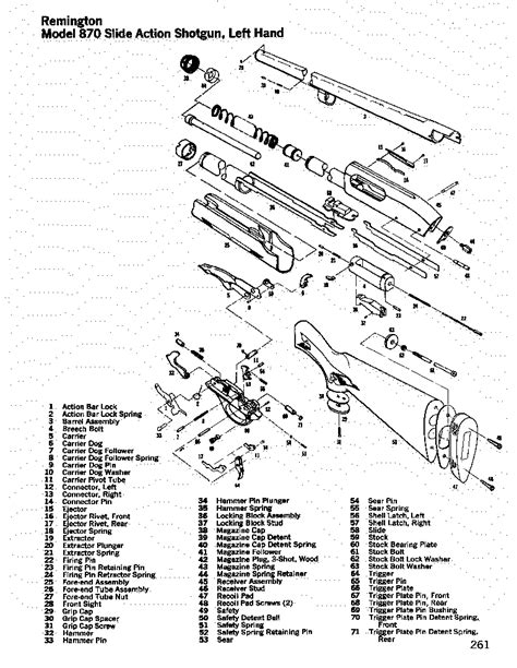 remington 870 diagram rem870