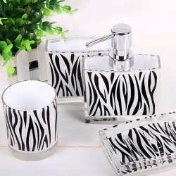 Zebra Bathroom Ideas by Zebra Bathroom Set