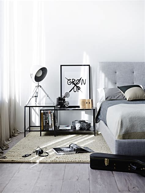 Monochrome bedrooms inspiration style ision