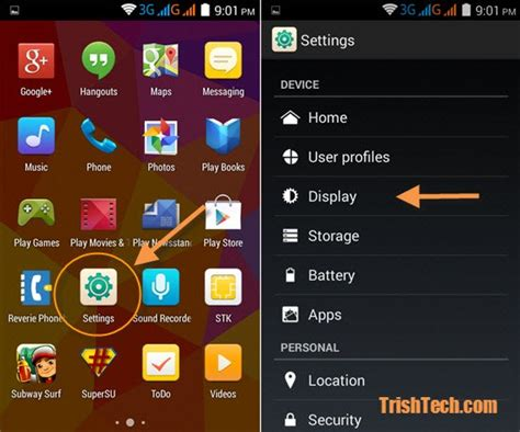font size changer for android how to change the font size in android