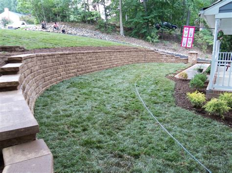Retaining Wall Landscaping Ideas Railway Sleeper Landscaping Ideas Retaining Wall Ideas Wooden Steps Landscaping Design For