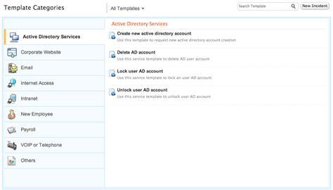 custom category template servicedesk plus on demand help