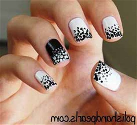 deco ongle noir et argent deco ongle noir et argent deco ongle fr