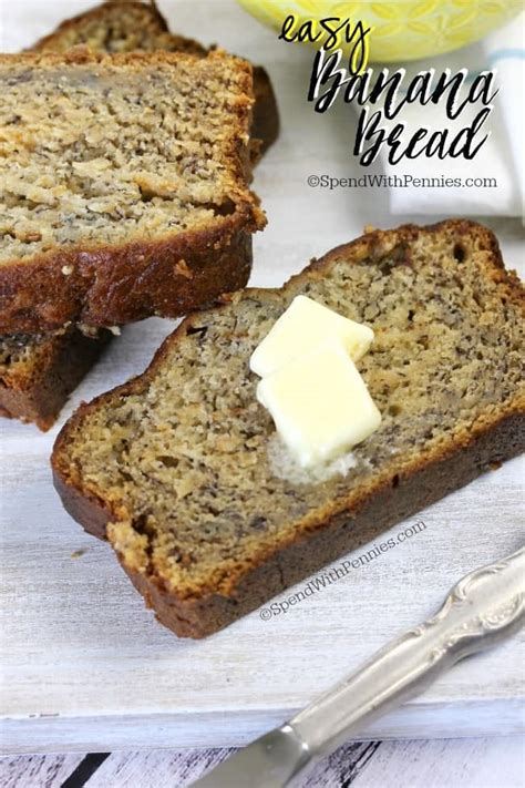 easy banana bread recipe spend with pennies