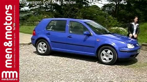 volkswagen golf mkiv review  youtube