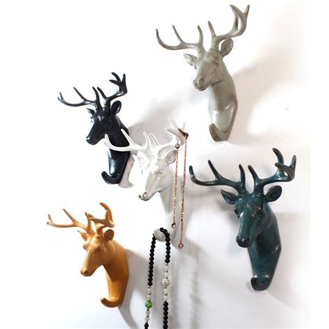 discount decorative coat hooks new arrival american style home decoration animal shaped