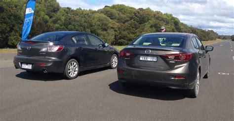 difference in mazda 3 models 2014 mazda 3 v mazda 3 comparison review caradvice