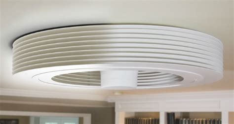 Exhale Ceiling Fan by A Revolutionary Bladeless Ceiling Fan By Exhale Fans