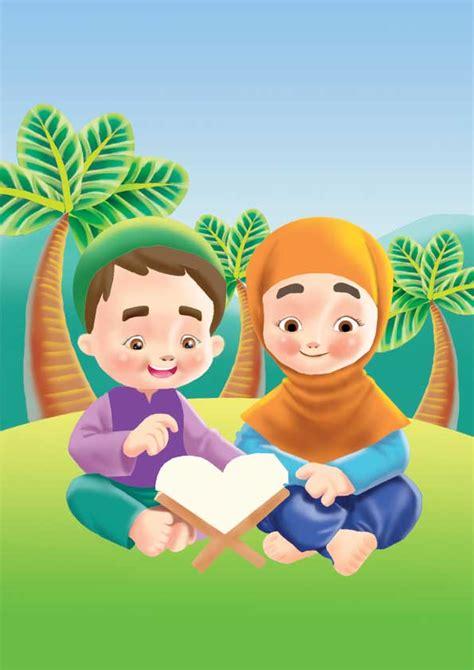 gambar wallpaper anak muslim jangan lupa shalat 5 waktu kawan mendidik anak menjadi