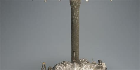 Kembang Api Silver 20second 5meter broken hill epergne by henry steiner maas collection