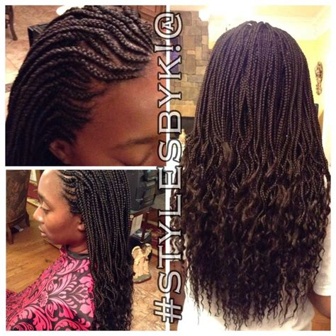 black crinkle hairstyles box braids with ghana cornrows and crinkles african
