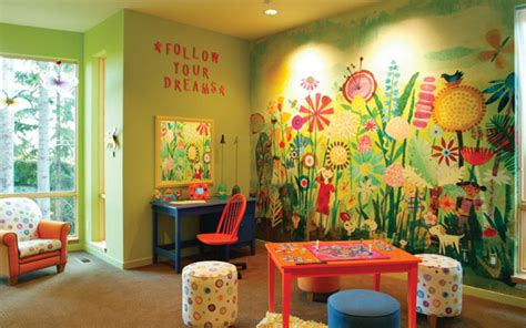 playroom wall murals childrens playroom ideas house plans and more
