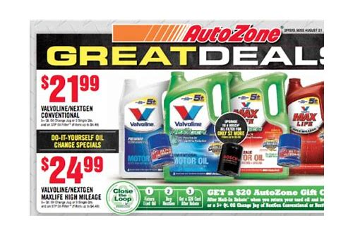 autozone deals of the week