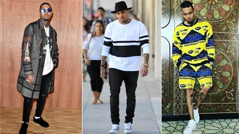 style clothing chris brown s fashion style