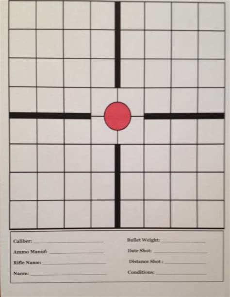 free printable moa targets 1 4 moa 100 yard tagets pictures to pin on pinterest