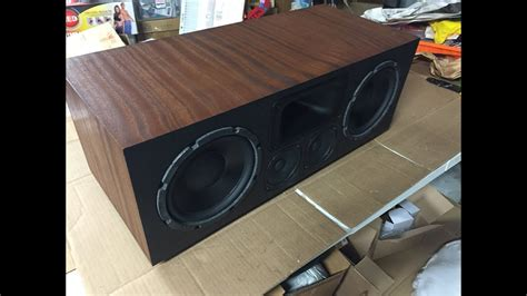 home theater speakers diy speaker build funnydogtv