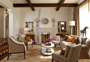 color room santa barbara montecito andalusian mediterranean living room santa
