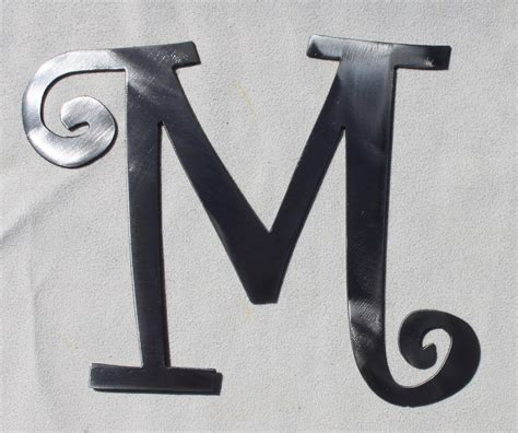 Metal Decorative Letters by 10 Curlz Font Decorative Metal Letter By Charlestonharbor
