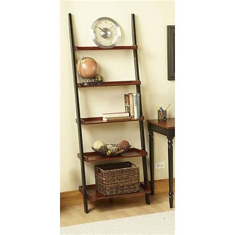 Ladder Bookshelf Convenience Concepts Country Bookshelf Ladder