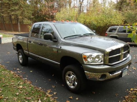 electric and cars manual 2007 dodge ram 2500 security system buy used 2007 dodge ram 2500 hemi quad cab heavy duty 4x4 pick up in cold spring new york