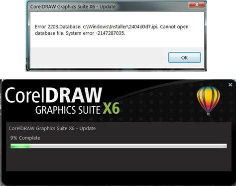 coreldraw runtime error coreldraw graphics suite x6 error during sp3 installation coreldraw graphics suite