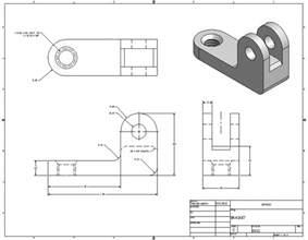 creating drawings in inventor mae3