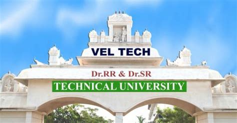 Vel Tech Mba by Vel Tech Engineering College Chennai Admission