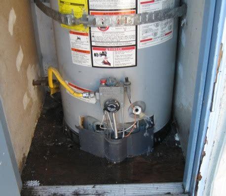 Water Heater Leaking Guaranteed Plumbing Danville Ca December 2012