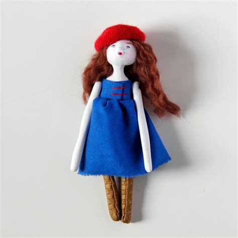 How To Make Paper Clay Dolls - contemporary doll handmade paper clay doll dolls