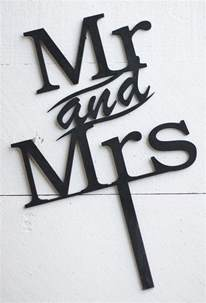 Tall Acrylic Vase Wedding Cake Topper Mr And Mrs