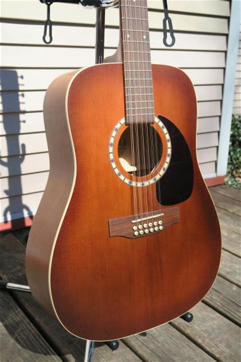 And Lutherie 12 String - lutherie 12 string cedar antique burst acoustic
