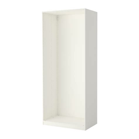 White Pax Wardrobe by Pax Wardrobe Frame White