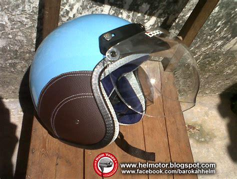 Helm Bogo Retro Vespa Clasic Merah Maroon helm vespa bogo ksct biru muda helm vespa