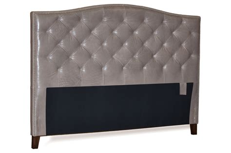 tufted leather headboard queen queen size grey genuine leather diamond tufted headboard