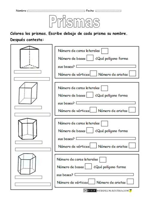 figuras geometricas tridimensionales nombres figuras geometricas tridimensionales primaria prismas1