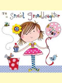 blm12 happy birthday granddaughter and balloon relations designs card